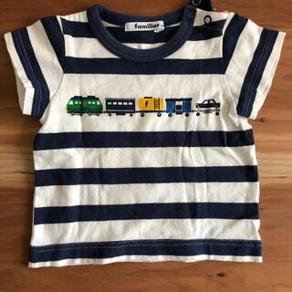 ファミリア(familiar)のファミリア  Tシャツ 80(Tシャツ)