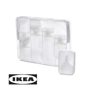 イケア(IKEA)のIKEA イケア  FÖRFINA フォルフィーナ トラベルセット(旅行用品)