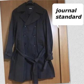 ジャーナルスタンダード(JOURNAL STANDARD)のジャーナルスタンダード 黒 トレンチコート  レディース(トレンチコート)