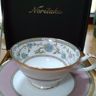 ノリタケ(Noritake)のカップアンドソーサー2客(グラス/カップ)