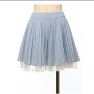 snidel - 【限定値下げ】【新品・未使用・タグ付き】snidel プリーツスカート ブルー