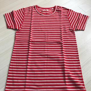ハリウッドランチマーケット(HOLLYWOOD RANCH MARKET)のハリウッドランチマーケット ボーダー Lサイズ Tシャツ メンズ(Tシャツ/カットソー(半袖/袖なし))