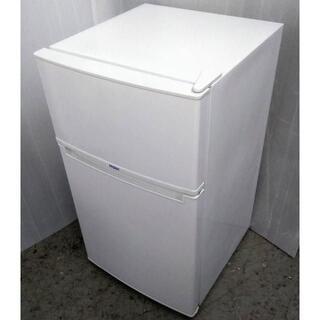 ハイアール(Haier)のクロッカス様専用 【送料込み】 冷蔵庫 小型 2ドア 85L (冷蔵庫)