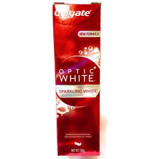 新品箱入 Colgate OPTIC WHITE 100gx1本 コルゲート(歯磨き粉)