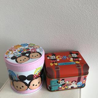 ミッキーマウス(ミッキーマウス)のツムツムディズニー缶(小物入れ)
