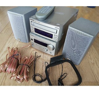 onkyo intec 155アンプ、スピーカー 、 CDプレーヤー(不具合有)(アンプ)