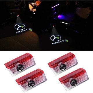 HAOHAOYUN カーテシ LED カーテシランプ カーテシライト 4個 Cク(ソファセット)