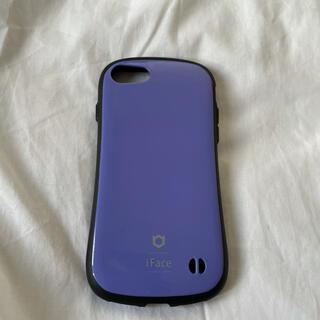 アイフォーン(iPhone)のiFace 紫 (iPhoneケース)