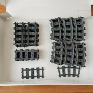 レゴ(Lego)の着払 レゴ 列車 線路他(電車のおもちゃ/車)