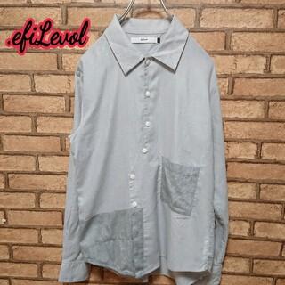 エフィレボル(.efiLevol)の.efiLevol エフィレボル   ポケット付き 長袖  シャツ(シャツ)