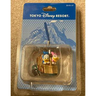 ディズニー(Disney)のTDS アトラクション センター ドナルド&デイジー ストラップ(ストラップ)