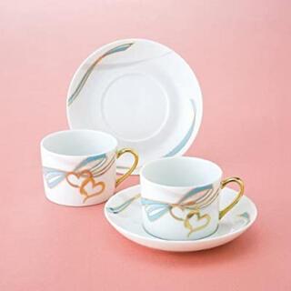 ノリタケ(Noritake)の[新品]Noritakeファインポーセレン スウィート スイング コーヒー碗皿(グラス/カップ)