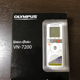 オリンパス(OLYMPUS)のOLYMPUS ボイスレコーダーVN-7200(その他)