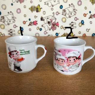 フジヤ(不二家)の不二家ペコちゃんミニマグカップ選べる5個セット(グラス/カップ)