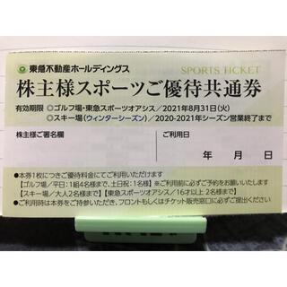 東急不動産 株主スポーツ優待券(その他)