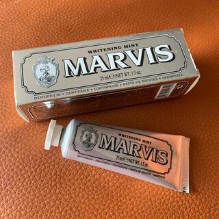 マービス(MARVIS)の【人気アイテム】マービス MARVIS ホワイトニングミント歯磨き粉 25ml(歯磨き粉)