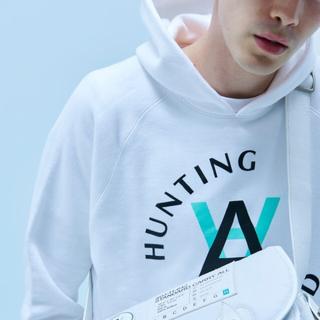 HUNTING WORLD - Daniel Arsham HUNTING WORLD パーカー L