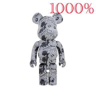 メディコムトイ(MEDICOM TOY)のBE@RBRICK Keith Haring Mickey Mouse 1000(キャラクターグッズ)