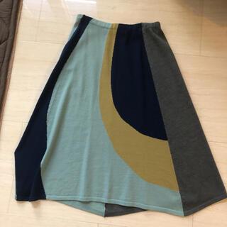 アクアガール(aquagirl)のアクアガール ニットスカート(ひざ丈スカート)