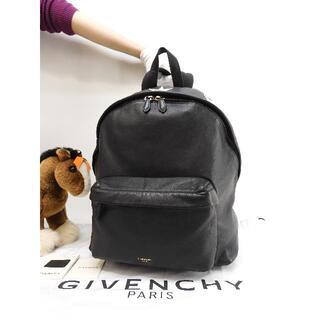 ジバンシィ(GIVENCHY)のジバンシィ バックパック 白スター 黒 リュックバッグ 極美品@ 1(バッグパック/リュック)