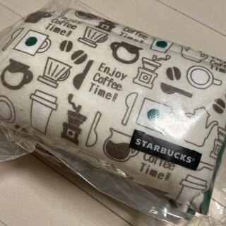 スターバックスコーヒー(Starbucks Coffee)のスターバックス福袋2021 トライアングルクッションとドリンクチケット1枚セット(クッション)