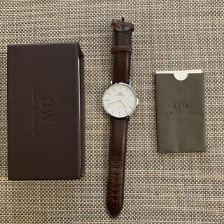 ダニエルウェリントン(Daniel Wellington)の箱、取説付き!ダニエルウェリントン腕時計(腕時計(アナログ))