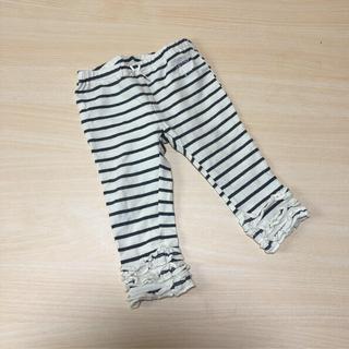 ジェラートピケ(gelato pique)のジェラートピケ♡ボーダー裾フリルパンツ(パンツ)