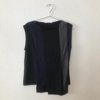 アクネ(ACNE)のノースリーブ トップス(カットソー(半袖/袖なし))