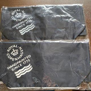 ロイヤルコペンハーゲン(ROYAL COPENHAGEN)のロイヤルコペンハーゲン 折りたたみエコバッグ 2枚セット(エコバッグ)