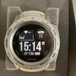 ガーミン(GARMIN)のガーミン インスティンクト グラファイト(腕時計(デジタル))