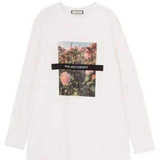 ジュエティ(jouetie)のjouetie/フラワーフォト ロンT(Tシャツ(長袖/七分))