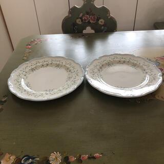 ロイヤルアルバート(ROYAL ALBERT)の専用 プレート大2枚+サンドイッチプレート1枚(食器)
