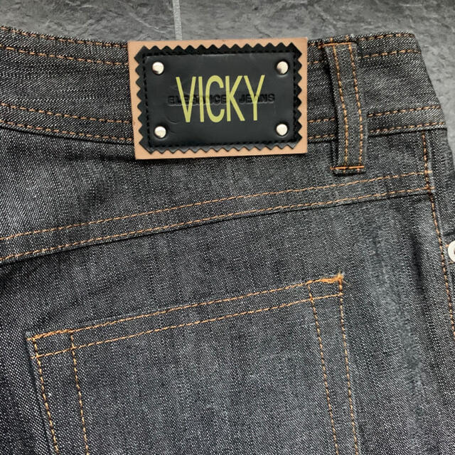VICKY(ビッキー)のVICKY♡ブラックデニムパンツ レディースのパンツ(デニム/ジーンズ)の商品写真