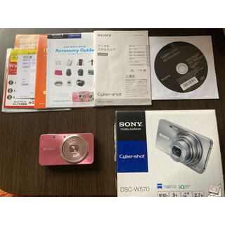 ソニー(SONY)のSONY Cyber−Shot W DSC-W570(P)(コンパクトデジタルカメラ)