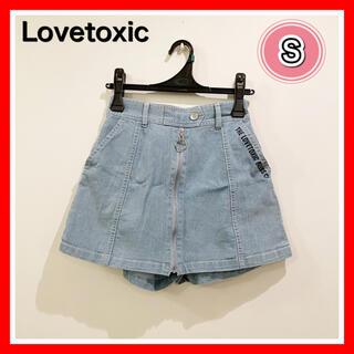 lovetoxic - ラブトキ   Lovetoxic ショートパンツ  S  デニム スカートパンツ