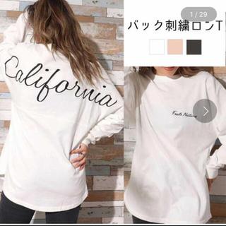 アナップ(ANAP)のANAP トレーナー 美品(Tシャツ/カットソー)