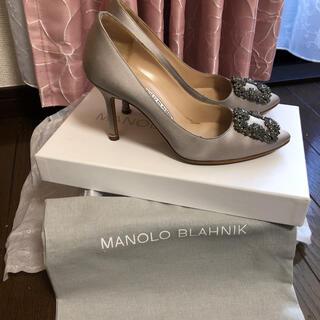 MANOLO BLAHNIK - お値下中!極美品!マノロブラニク♡王様ハンギシ♡絶妙上品カラー♡