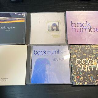 バックナンバー(BACK NUMBER)のback numberアルバム、シングル7点(ポップス/ロック(邦楽))