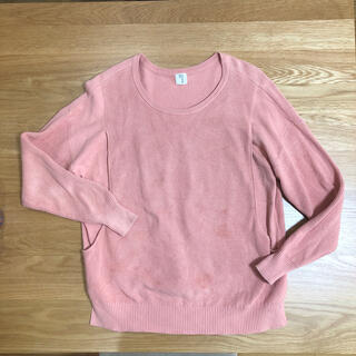 モーハウス(Mo-House)のリベラ様専用⭐︎モーハウス  授乳服 コットンニット 綿 ピンク(ニット/セーター)