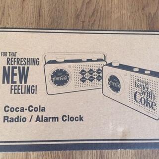 コカコーラ(コカ・コーラ)のコカコーラ ラジオ・アラームクロック(ラジオ)