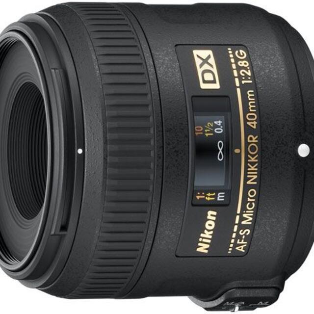 NIKKO(ニッコー)の新品 AF-S DX Micro NIKKOR 40mm f/2.8G スマホ/家電/カメラのカメラ(レンズ(単焦点))の商品写真