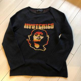 ヒステリックス(HYSTERICS)のhysterics 黒ニット(ニット/セーター)