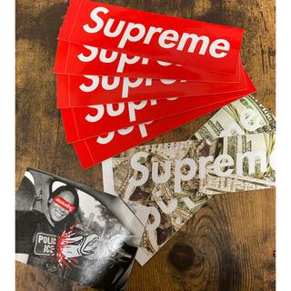 シュプリーム(Supreme)のsupreme ロゴ ステッカー8枚セット(その他)