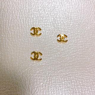 ネイルパーツ ゴールド 10個セット(デコパーツ)