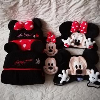 ディズニー(Disney)のTDR ミッキー&ミニーファンキャップ&ブランケット&パスケース6点セット(おくるみ/ブランケット)