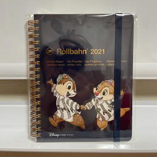 ディズニー(Disney)のディズニーストア チップとデール ロルバーン 手帳 2021(キャラクターグッズ)
