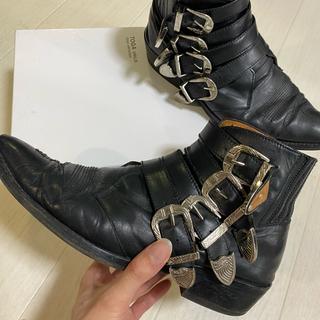 トーガ(TOGA)のTOGA virilis ブーツ シルバーバックル 箱あり(ブーツ)