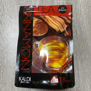 カルディ(KALDI)のカルディ シナモンティー ノンカフェイン(茶)