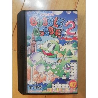 タイトー(TAITO)のファミコン カセット バブルボブル2(家庭用ゲームソフト)