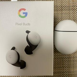 グーグル(Google)のpixel buds ホワイト(ヘッドフォン/イヤフォン)